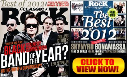 Classic Rock Magazine's Best of 2012