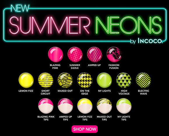 New Incoco Summer Neon Collection